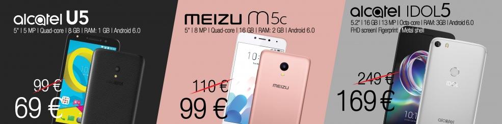 News - Alcatel and Meizu smartphones   Baltic Data