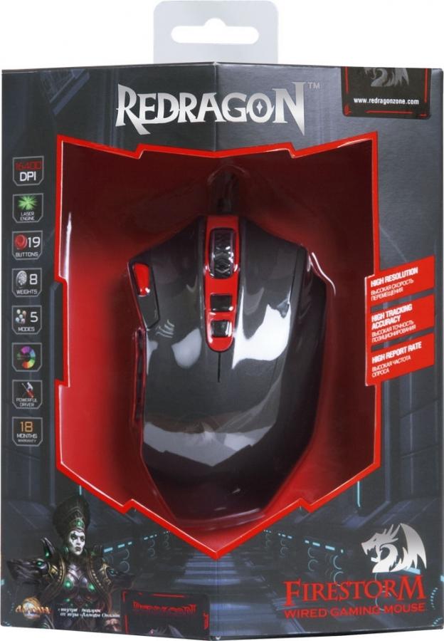 Mouse Defender Redragon Firestorm - PC mice - Computer