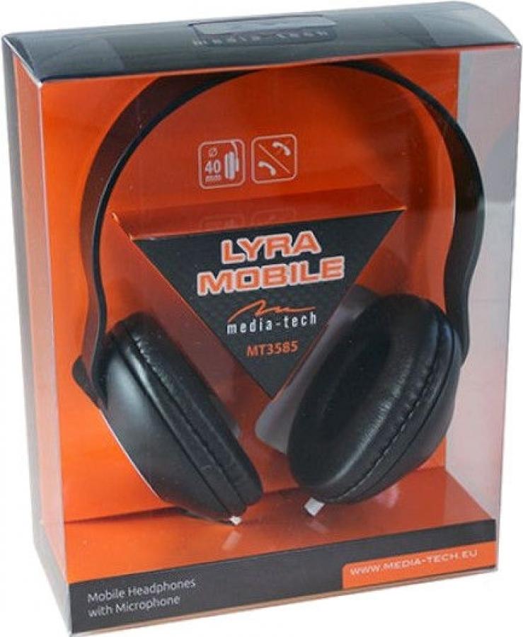 Media-Tech MT3585 - Headphones | Baltic Data